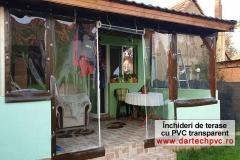 Inchidere terasa-hol de intrare cu PVC transparent
