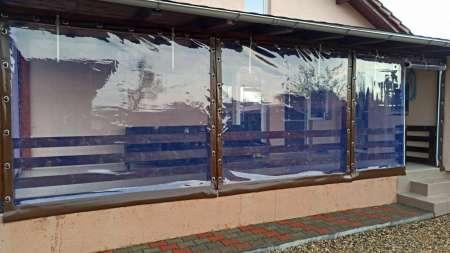 inchideri terase cu PVC transparent