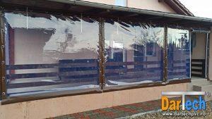 folie PVC transparent inchidere terasa