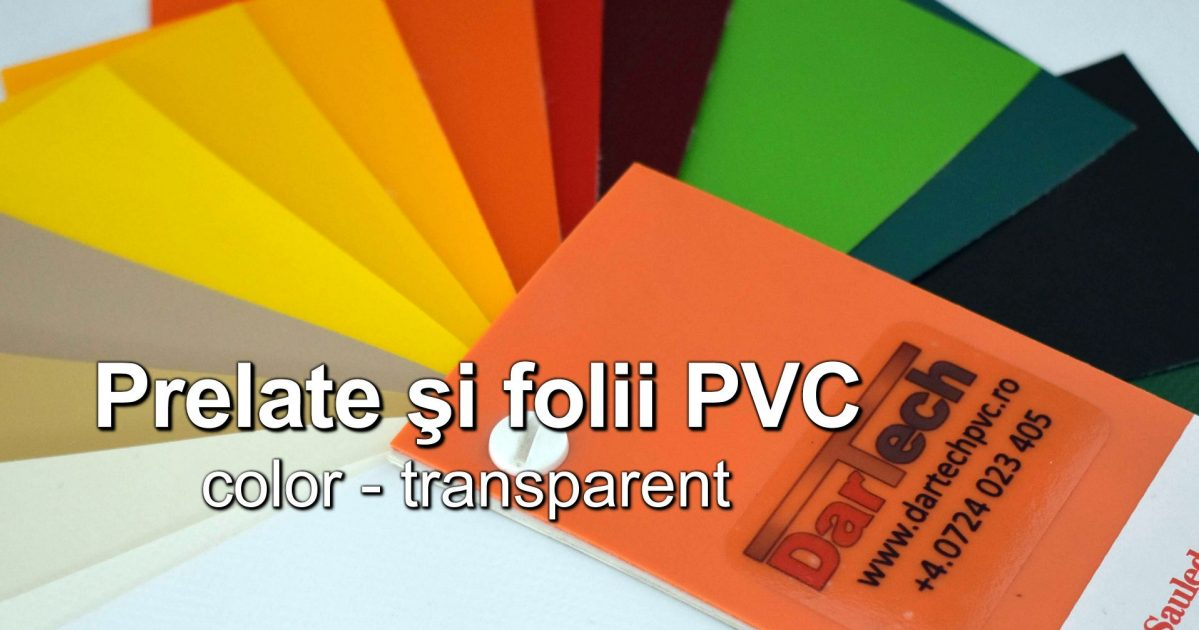 PVC mostrar perdele prelate